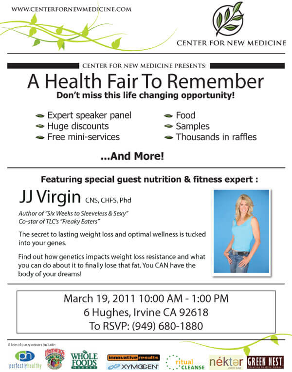 A Health Fair to Remember - Center for New Medicine - March 2011