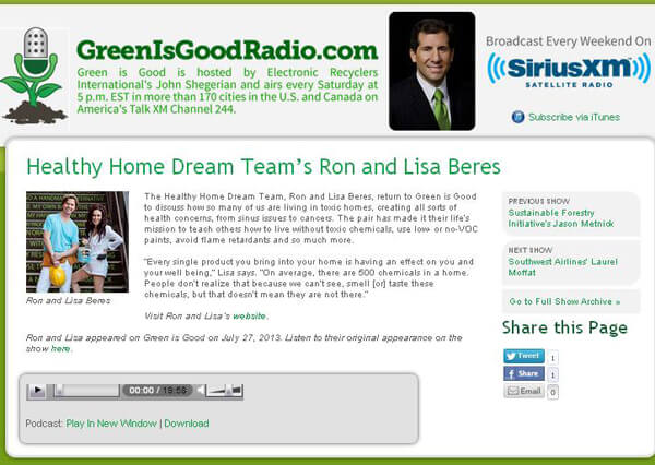 Green is Good radio