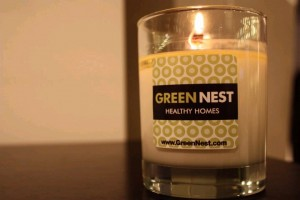 GreenNest candle