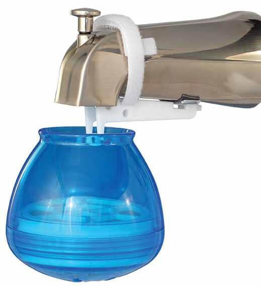 sprite bath ball blue