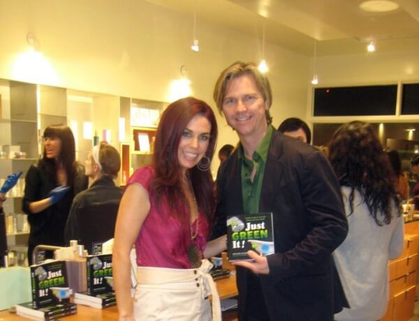 Ron and Lisa at Evolue Book Signing of Just Green It!
