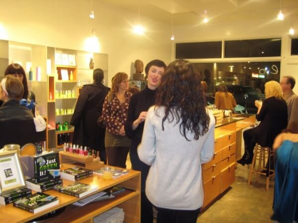 Evolue book signing for Ron and Lisa Beres' Just Green It!