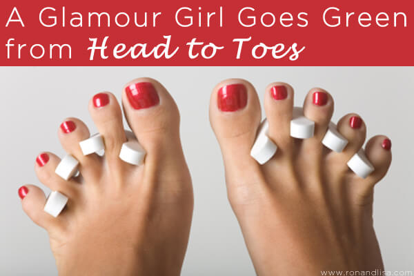 A Glamour Girl Goes Green from Head to Toes copy