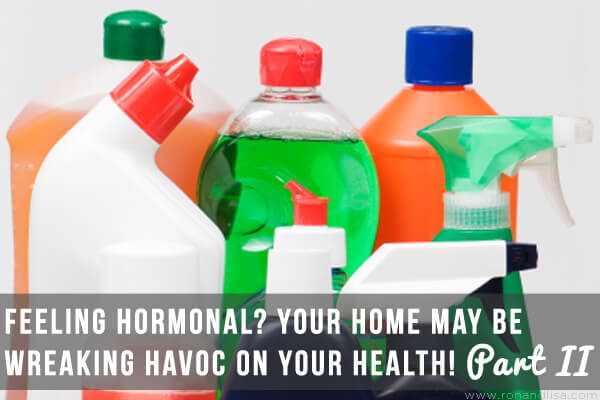 Feeling Hormonal Your Home May be Wreaking Havoc on Your Health! Part II copy
