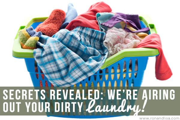Secrets Revealed We're Airing Out Your Dirty Laundry copy