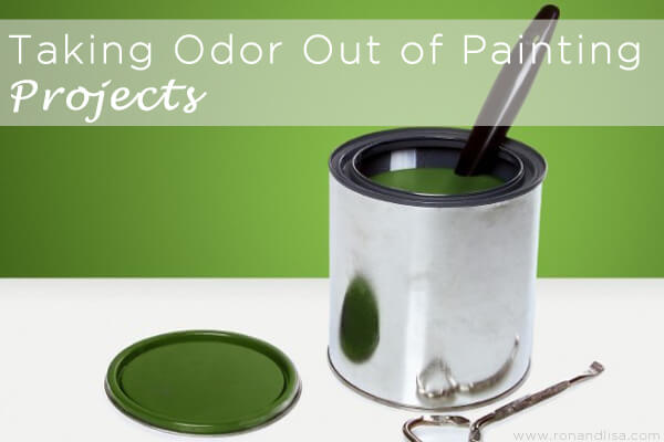 Taking Odor Out of Painting Projects copy