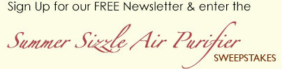 The Summer Sizzle Air Purifier Sweepstakes