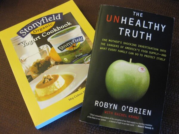 Stonyfield Organic & The Unhealthy Truth Giveaway!