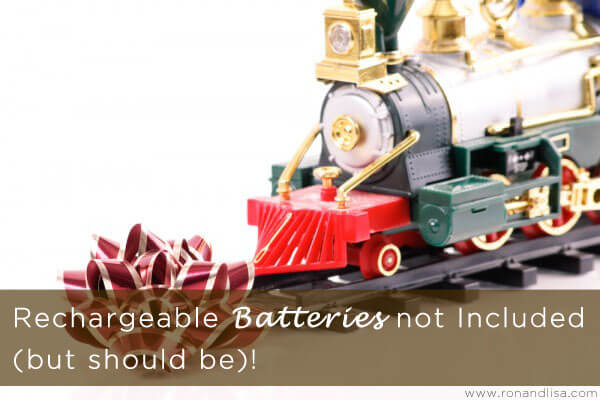 Rechargeable Batteries not Included (but should be)