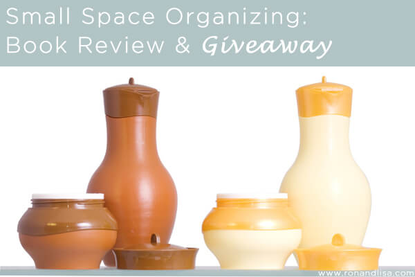 Small Space Organizing-Book Review and Giveaway