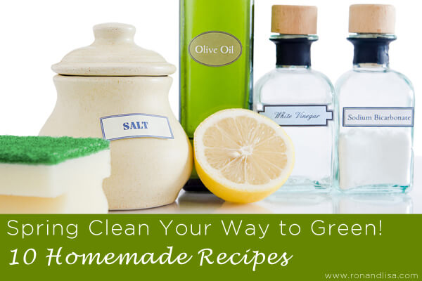 Spring Clean Your Way to Green 10 Homemade Recipes