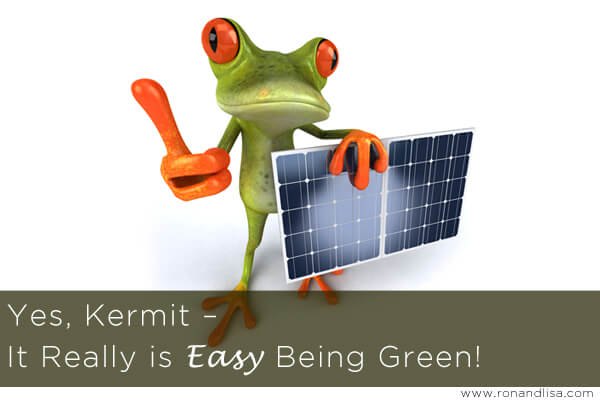 Yes, Kermit – It Really is Easy Being Green!