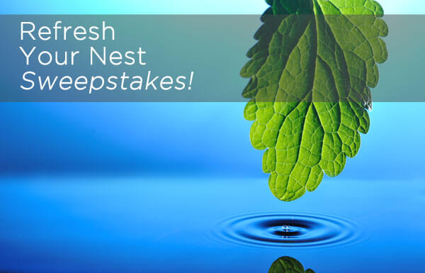 Refresh Your Nest Sweepstakes!