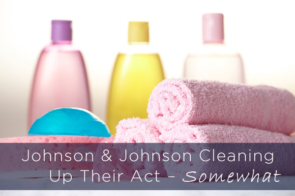 Johnson & Johnson Cleaning Up Their Act – SOMEwhat
