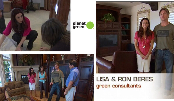 Discovery's Planet Green TV: Green Home Makeover with Ron & Lisa!