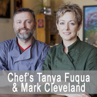 Chef's Tanya Fuqua  Mark Cleveland