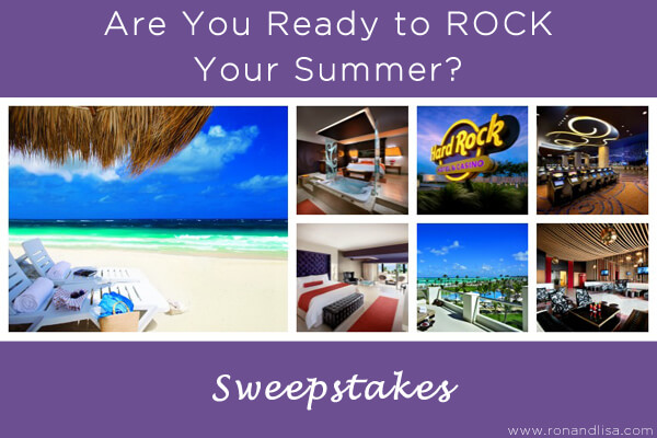Are You Ready to ROCK Your Summer? Sweepstakes