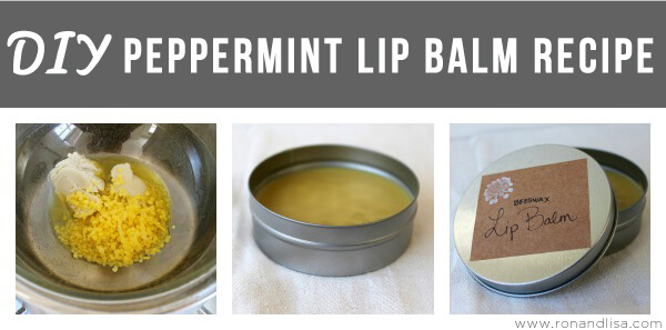 DIY Peppermint Lip Balm Recipe