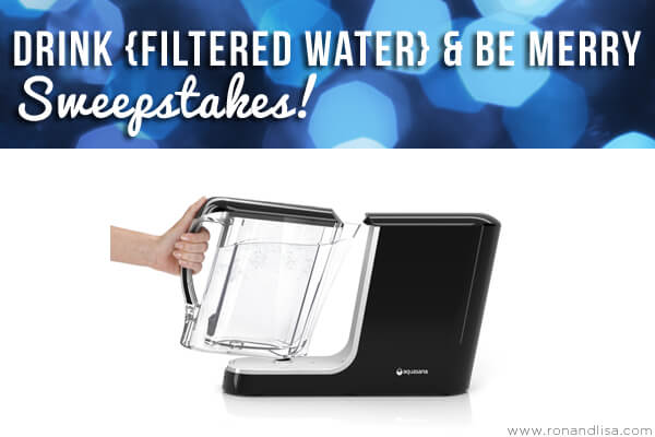 Drink {Filtered Water} & Be Merry Sweepstakes!