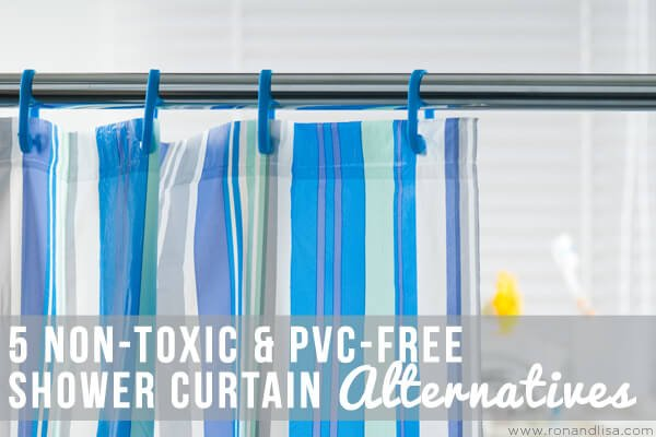 5 Non Toxic PVC Free Shower Curtain Alternatives