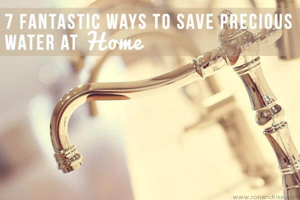 7 Fantastic Ways To Save Precious Water At Homer2 copy