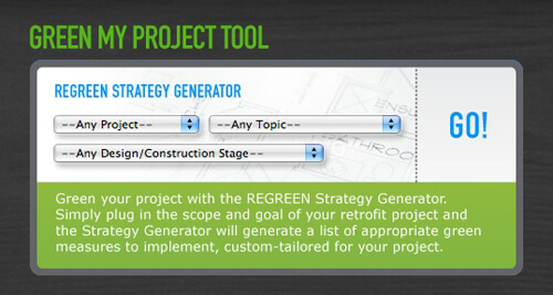 regreen project tool_