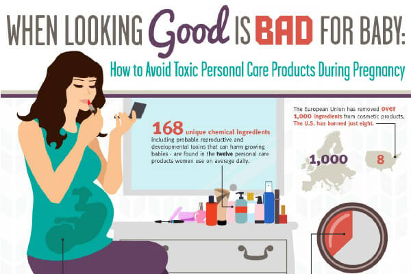 How to Avoid Toxic Personal Care Products During Pregnancy