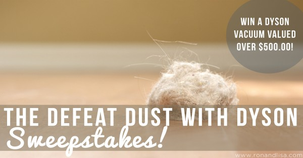 The Defeat Dust with Dyson Sweepstakes!