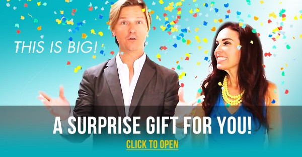 A Surprise Gift for You! THIS. IS. BIG.