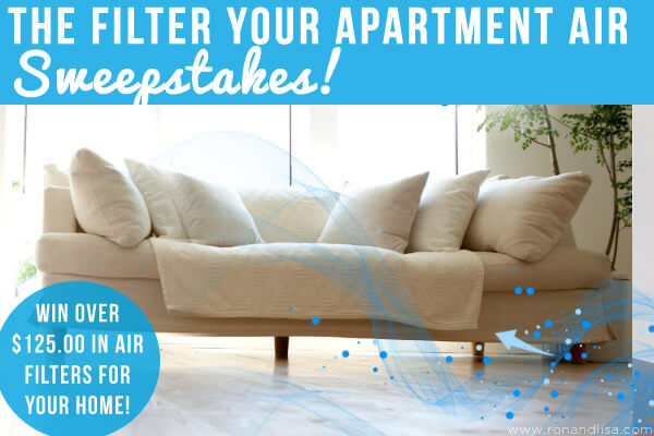 The Filter Your Apartment AIR Sweepstakes!