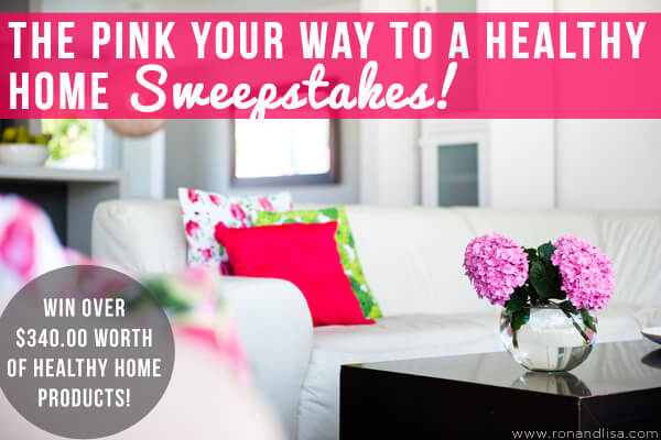 The Pink Your Way to a Healthy HOME Sweepstakes!