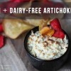Vegan + Dairy-Free Artichoke Dip dark grey copy
