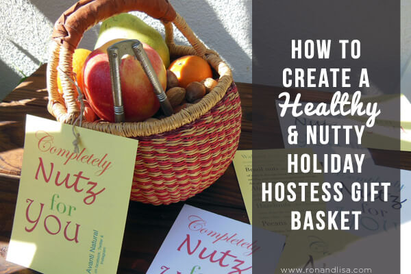 How to Create a Healthy & Nutty Holiday Hostess Gift Basket option 3 r2 copy