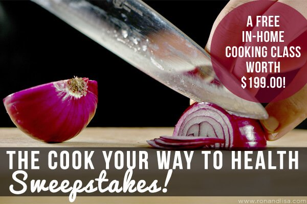 The Cook Your Way to Health Sweepstakes!