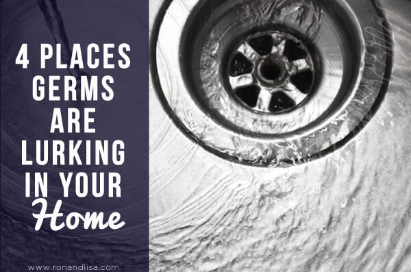 4 Places Germs Are Lurking in Your Home