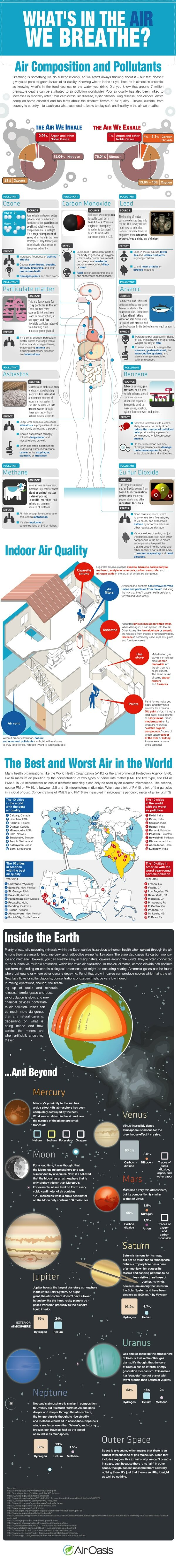 What's in the Air We Breathe? (Infographic) | Air Oasis