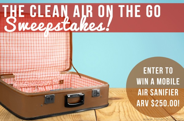 The Clean Air on the Go Sweepstakes!