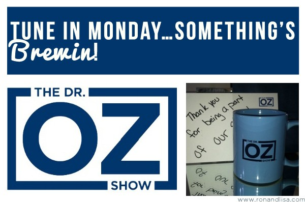 TUNE IN MONDAY…Something's Brewin!