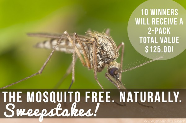 The Mosquito Free. Naturally. Sweepstakes!