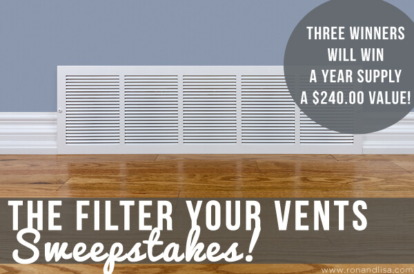 The Filter Your Vents Sweeepstakes r4 copy