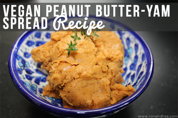 Vegan Peanut Butter-Yam Spread Recipe r2