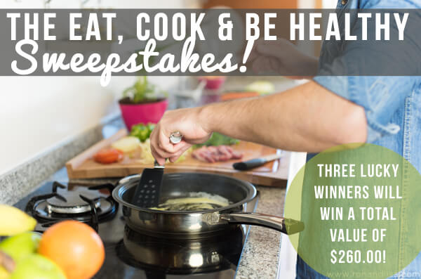 Eat, Cook & Be Healthy sweeps copy