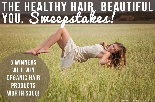The Healthy Hair. Beautiful You. Sweepstakes!