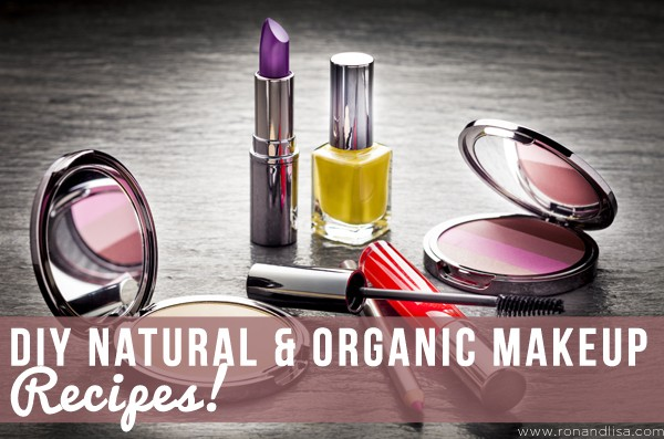DIY Natural & Organic Makeup Recipes!