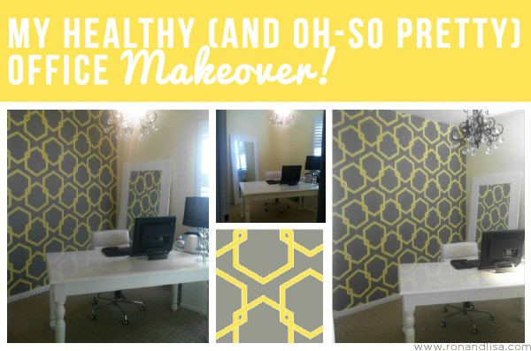 My Healthy (and Oh-So Pretty) Office Makeover!