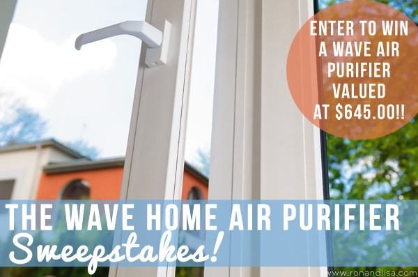 The WAVE Home Air Purifier Sweepstakes!