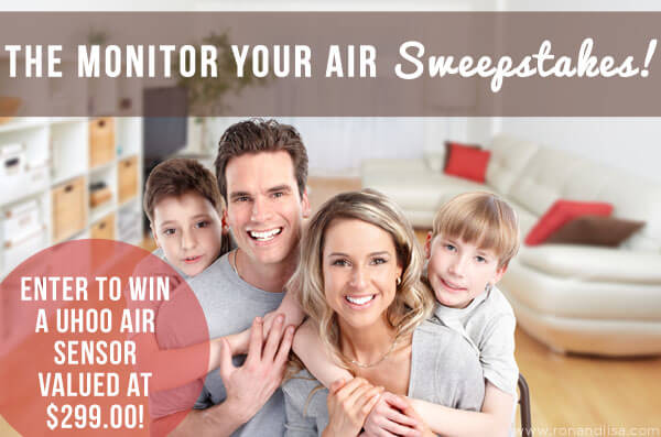 The Monitor Your Air Sweepstakes