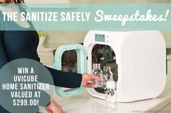 The Sanitize Safely Sweepstakes!