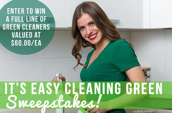 It's Easy Cleaning Green sweeps