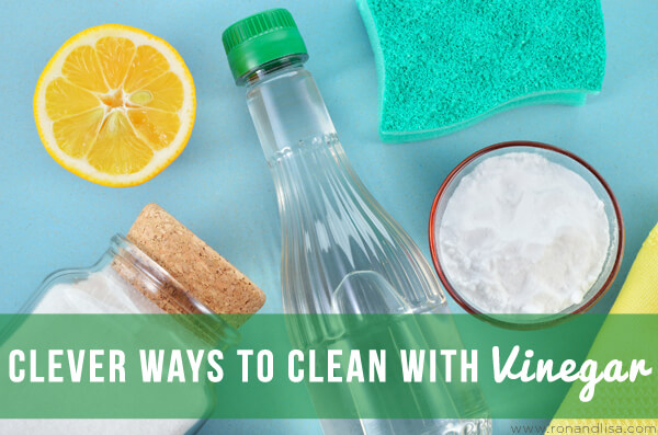 Clever Ways to Clean with Vinegar